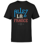Allez La France Men's T-Shirt - Black
