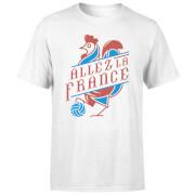 Allez La France Men's T-Shirt - White