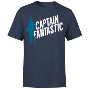 T-Shirt Homme Captain Fantastic Football - Bleu Marine