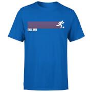 T-Shirt Homme Équipe Anglaise Football - Bleu Roi
