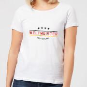 Weltmeister Women's T-Shirt - White - 5XL - Blanco