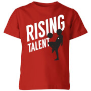 Rising Talent Kids T-Shirt - Red - 3-4 Years - Red