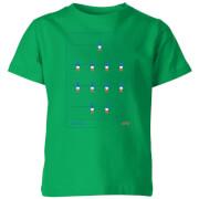 T-Shirt Enfant Équipe de Baby Foot France Football - Vert Foncé