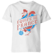 Equipe De France Kids' T-Shirt - White