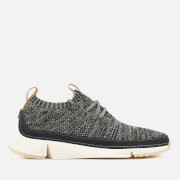 Clarks Women's Tri Native Knitted Trainers - Dark Grey Multi