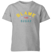 My Little Rascal Blame The Sugar Kids' T-Shirt - Grey