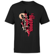 T-Shirt Homme Deadpool Lady Deadpool Marvel - Noir