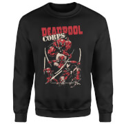 Marvel Deadpool Family Corps Sweatshirt - Black