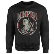 Marvel Deadpool Vintage Circle Pullover - Schwarz