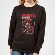 Sudadera Marvel Deadpool Family Corps - Mujer - Negro - XS - Negro