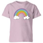 My Little Rascal Rainbow - Baby Pink Kids' T-Shirt