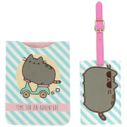 Pusheen Passport and Luggage Tag Travel Set