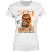 Star Wars Chewbacca One Night Only Women's T-Shirt - White