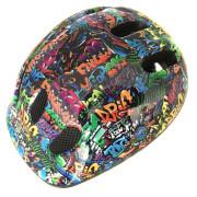 Coyote Kids Graffiti Bike Helmet - M/52-55cm - Blue