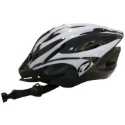 Coyote Sierra Dial Fit Adult Cycling Helmet - White - L/58-61cm - White