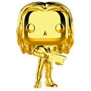 Marvel MS 10 Gamora Gold Chrome Pop! Vinyl Figur