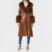 Saks Potts Women's Foxy Walnut Coat - Walnut - 2/UK 10 - Brown