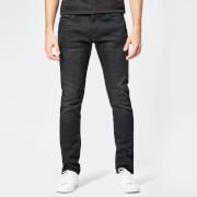 emporio armani men's 5 pocket skinny denim jeans - denim nero - w30/l34
