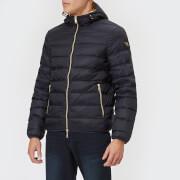 Emporio Armani Men's Gold Trim Jacket - Navy - IT 48/S - Blue