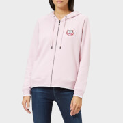 KENZO Women's Light Cotton Molleton Hoody - Pastel Pink