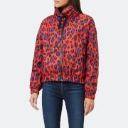 KENZO Women's Leopard Nylon Jacket - Red - S - Red