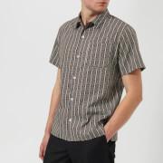 A.P.C. Men's Chemise Wonder Shirt - Marron Fonce