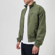 A.P.C. Men's Roady Blouson Jacket - Kaki Militaire - L - Green