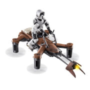 Propel Star Wars Collector's Edition High Performance 74-Z Speeder Bike Battling Quadcopter