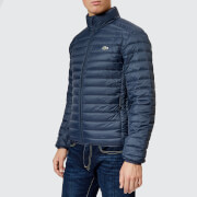 Lacoste Men's Quilted Nylon Jacket - Meridian Blue - 48/S - Blue