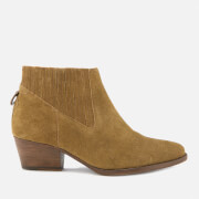 Hudson London Women's Ernest Suede Heeled Ankle Boots - Tan - UK 3 - Tan