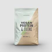 Vegan Protein & Greens - 1kg - Банан и корица фото
