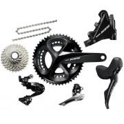 Shimano 105 R7020 11 Speed Groupset – Hydraulic Disc Brake – 175mm-11/28-39/53