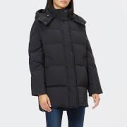 Woolrich Women's Aurora Puffy Coat - Black - L - Black