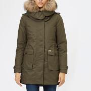 Woolrich Women's Scarlett Parka - Military Olive - L - Green