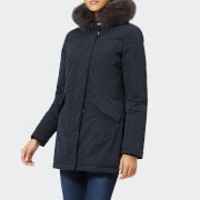 Woolrich Women's Luxury Arctic Parka - Midnight Navy - L - Blue