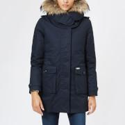 Woolrich Women's Scarlett Eskimo Coat - Dark Navy - L - Blue