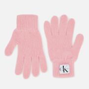 Calvin Klein Women's Basic Women Knitted Gloves - Chintz Rose