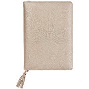 Ted Baker Tassel A5 Folio - Rose Gold
