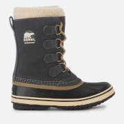 Sorel Women's 1964 Pac 2 Hiker Style Boots - Coal - UK 4 - Black