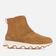 Sorel Women's Kinetic Short Boots - Camel Brown/Natural - UK 3 - Tan
