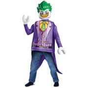 LEGO Batman Movie Kids Joker Classic Fancy Dress - Purple