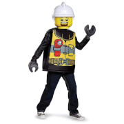 LEGO Iconic Kids Firefighter Classic Fancy Dress - Black