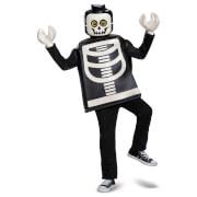 LEGO Iconic Kids Skeleton Classic Halloween Fancy Dress - Black