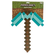 Minecraft Kids Play Pickaxe Fancy Dress - Blue/Brown