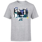Marvel Knights Jessica Jones Comic Panels Men's T-Shirt - Grey