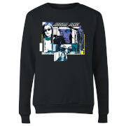 Marvel Knights Jessica Jones Comic Panels Women's Sweatshirt - Black