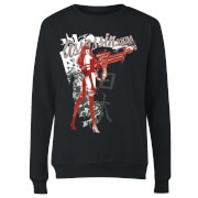 Marvel Knights Elektra Assassin Women's Sweatshirt - Black