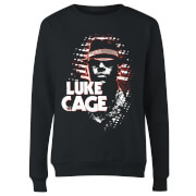 Marvel Knights Luke Cage Women's Sweatshirt - Black