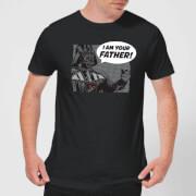 Star Wars Darth Vader I Am Your Father Mens T-Shirt - Black - XXL - Black