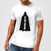 Star Wars Darth Vader Father Imperial Men's T-Shirt - White